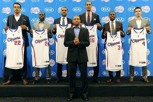 Clippers introduce fleet of players