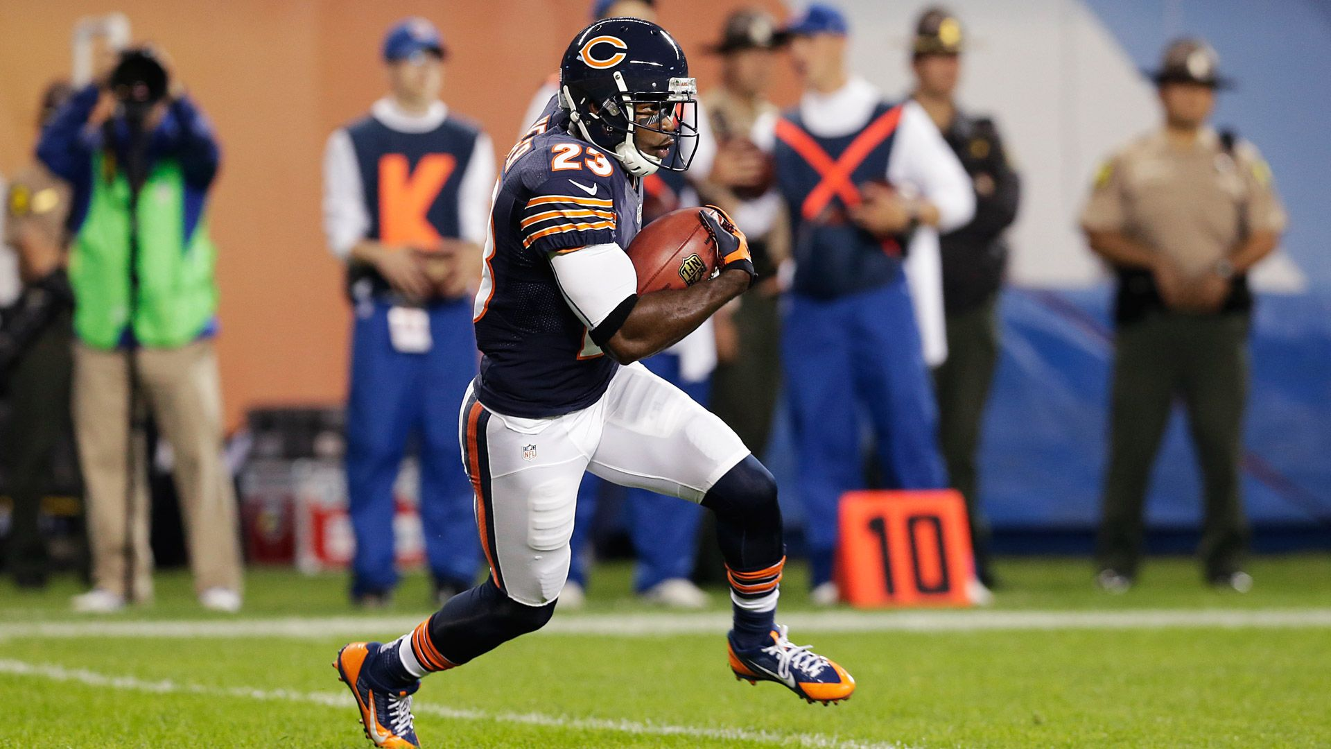 Devin Hester, who retired Monday with the Bears, scored a record 20 touchdowns on returns during his career. He doesn't want to see the NFL do away with the kickoff, saying