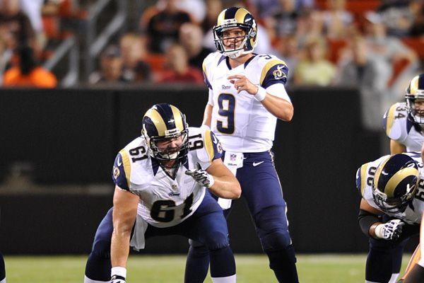 Rams Quarterback Situation Unresolved St Louis Rams