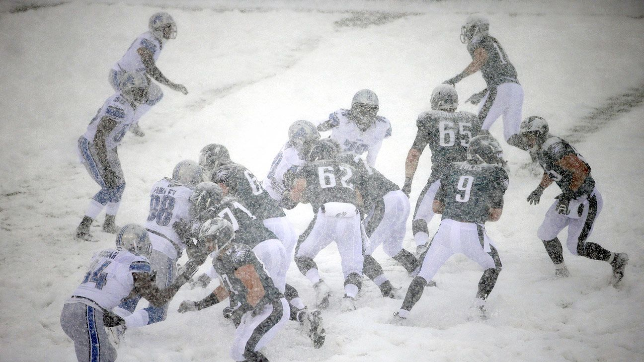 Snow impacts multiple NFL games