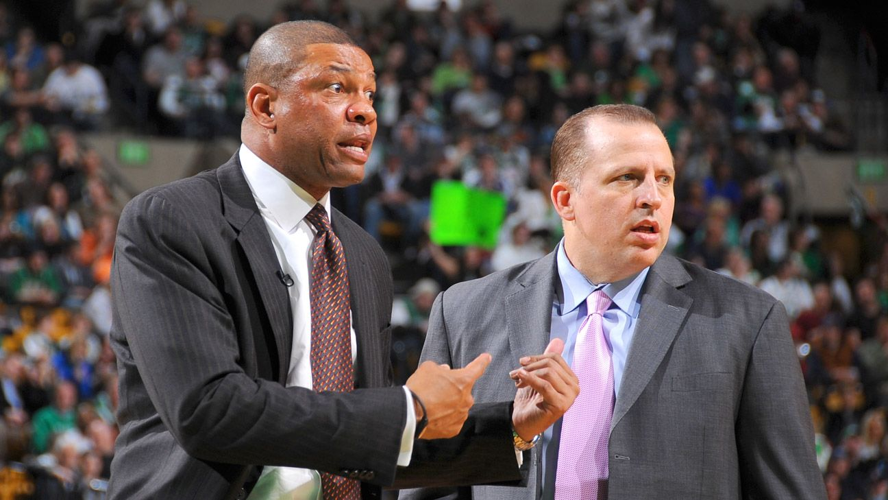LA Clippers head coach Doc Rivers, Minnesota Timberwolves ...