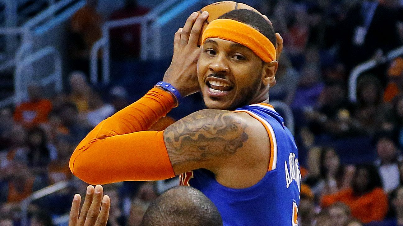 Carmelo Anthony of New York Knicks intends to opt out, test free agency