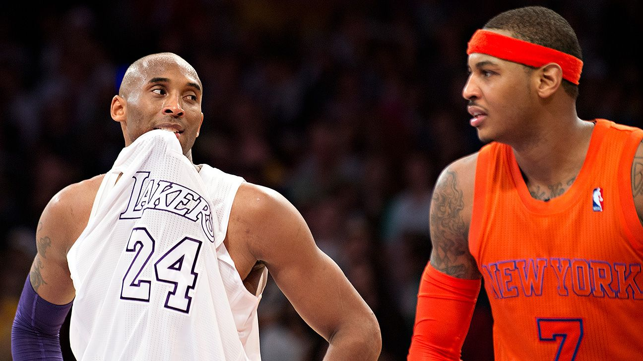 Lakers meet with Carmelo Anthony