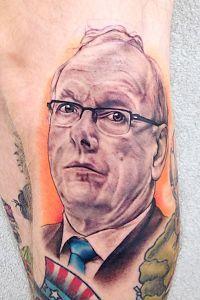 Fan salutes Jim Boeheim with tattoo