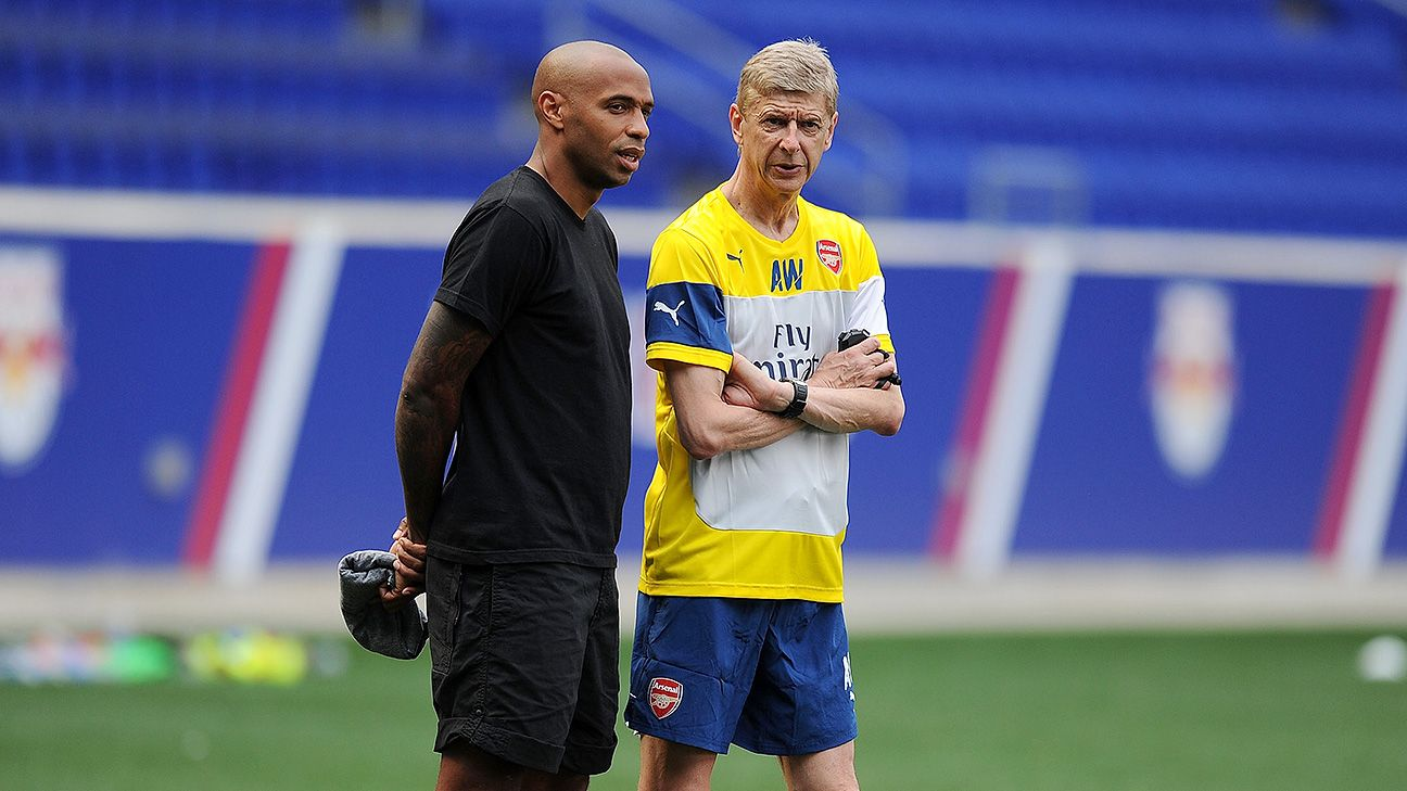 Image result for Thierry Henry arsenal manager