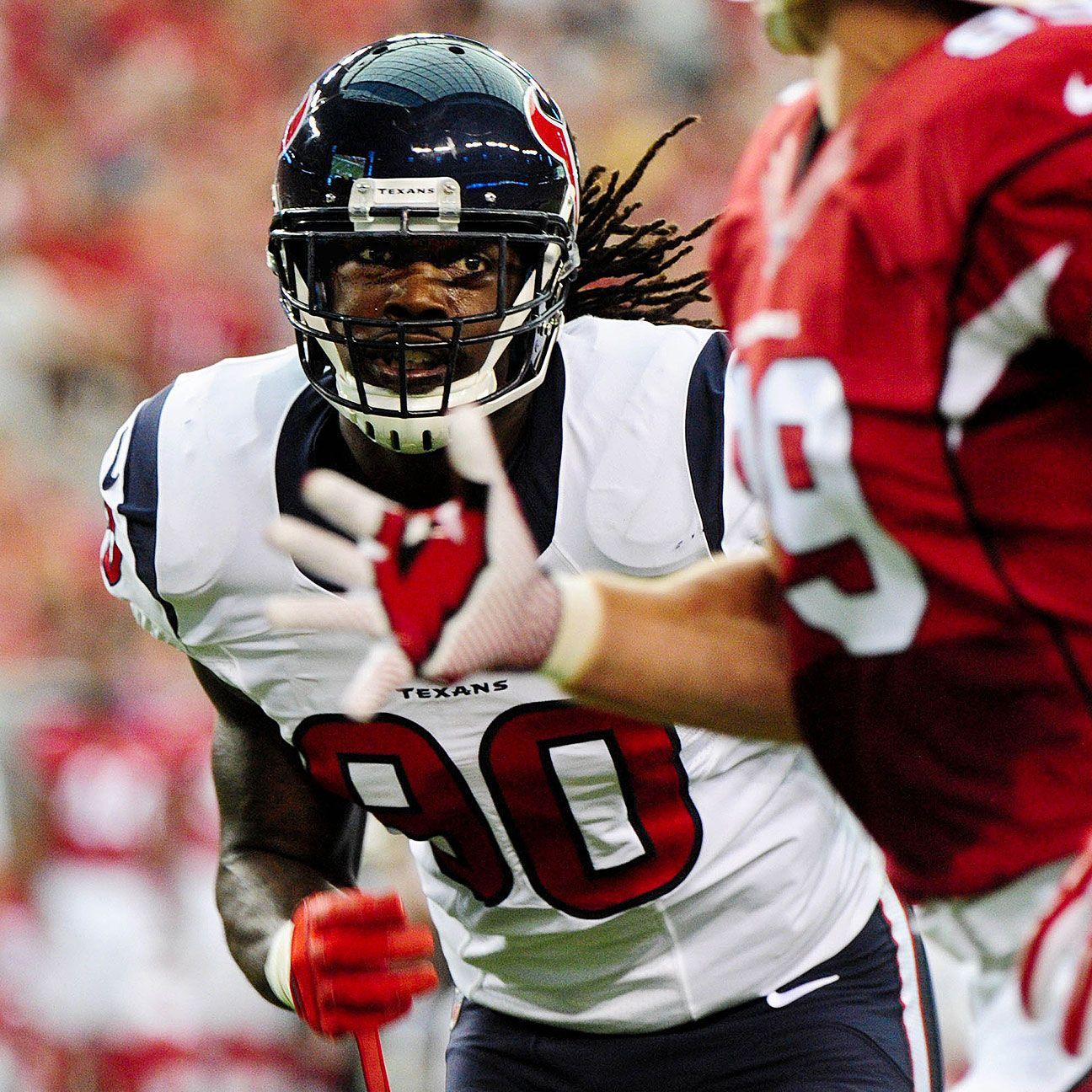 Houston Texans' Jadeveon Clowney Leads List Of Top Impact