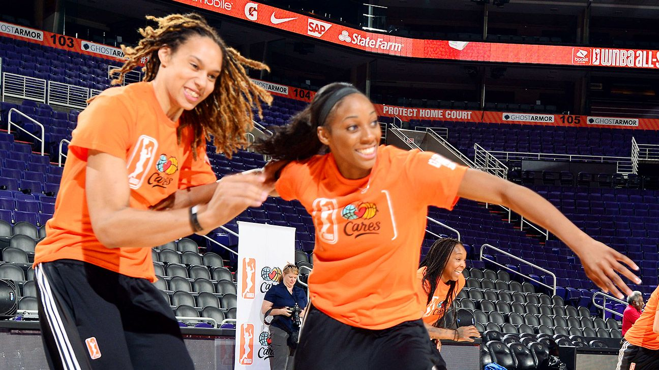 Brittney Griner claims in court documents Glory Johnson cheated