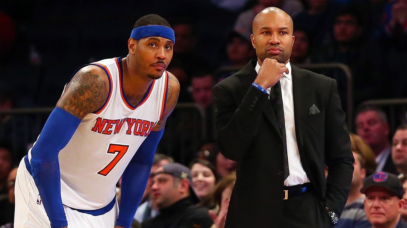 Carmelo: Fisher keeps us believing