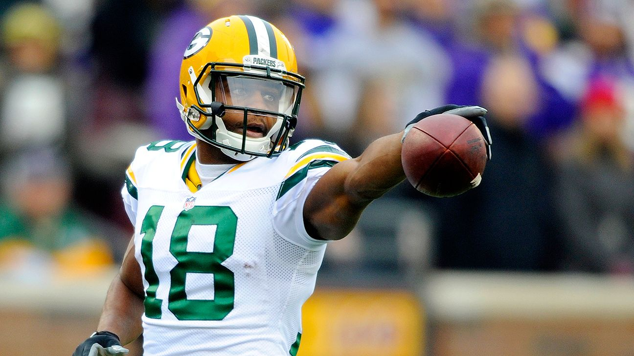 Randall Cobb says role won't change much with Jordy Nelson out