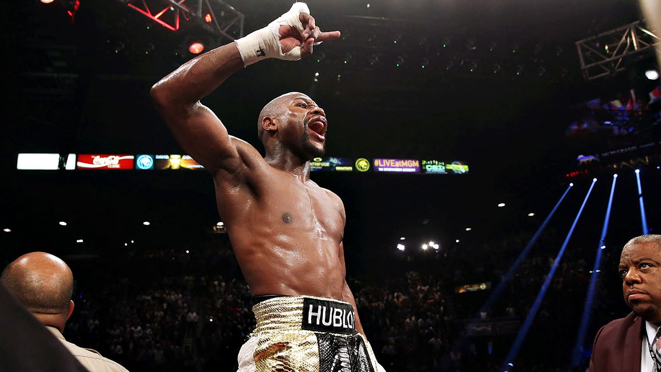 Floyd Mayweather says Ronda Rousey 'will never be at my status'