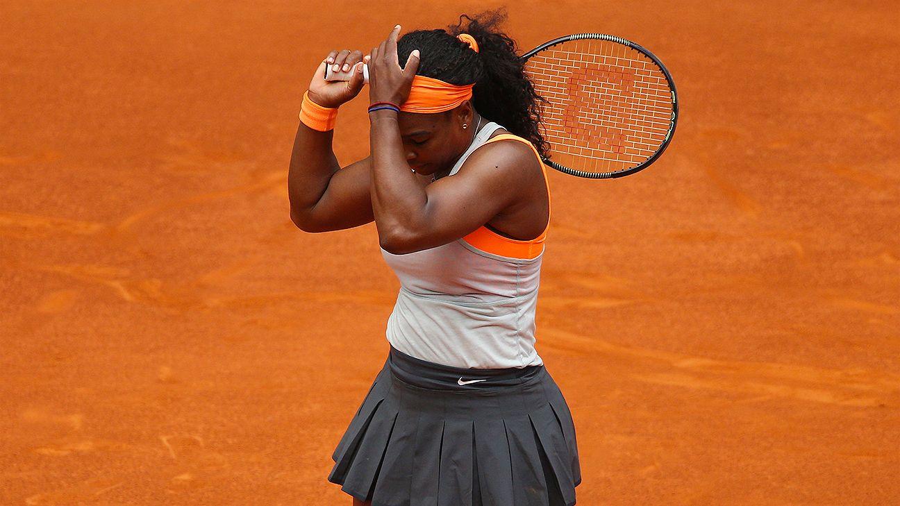 Tennis - Serena Williams, Maria Sharapova barely put up fights in Madrid losses