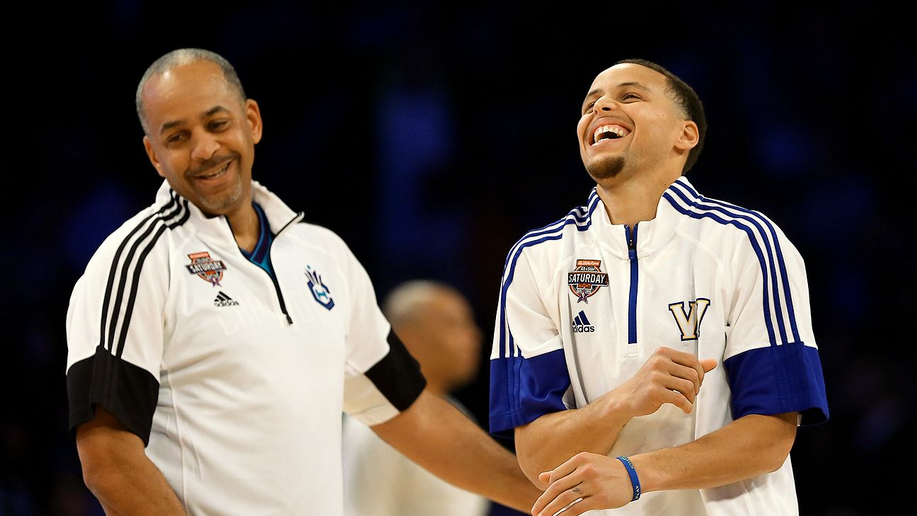 NBA Q&A with Dell Curry Happy to be surpassed by Stephen Curry