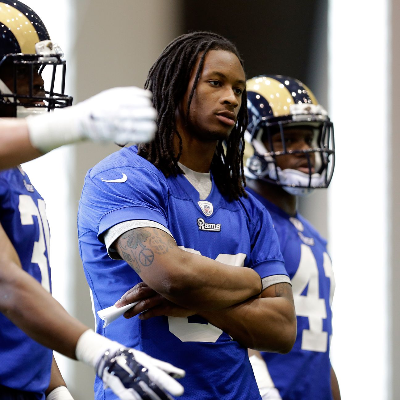 Rams Rookie Todd Gurley Focused On Making Mental