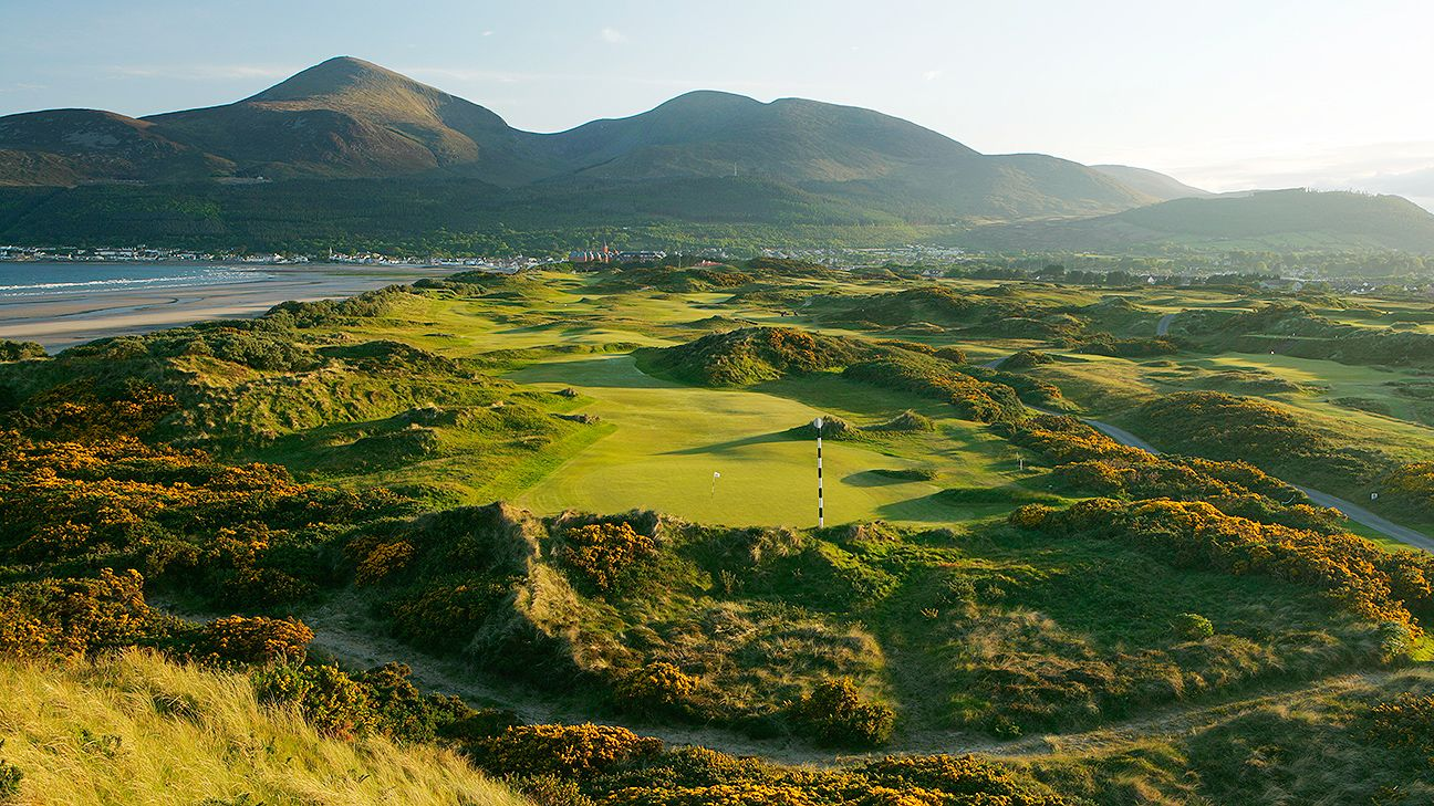 Birdies bogeys royal county down takes center stage at for Royal county down