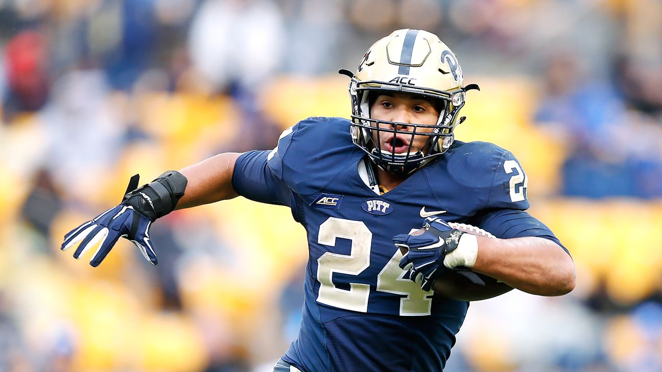 James Conner of Pittsb...