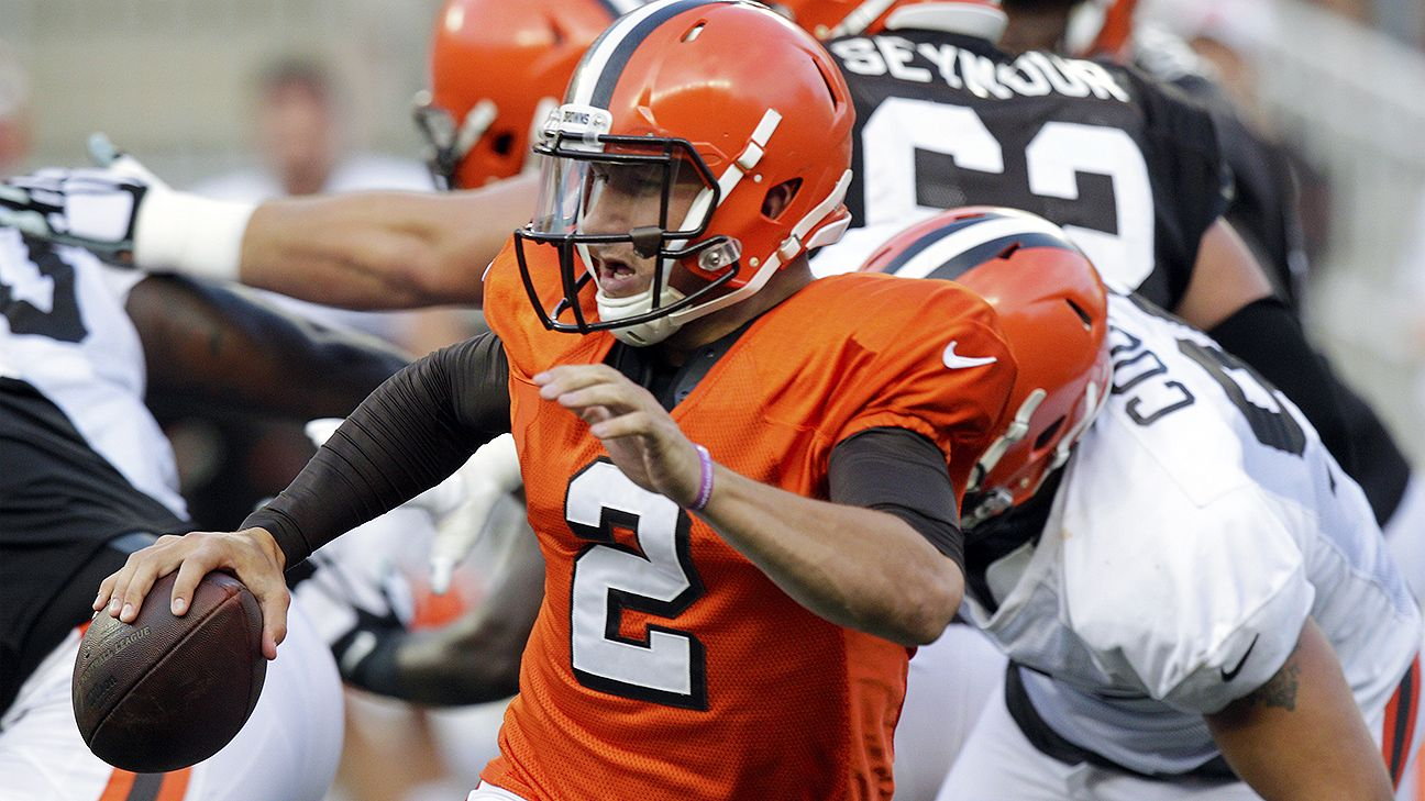 Marked improvement in Browns' scrimmage for Johnny Manziel