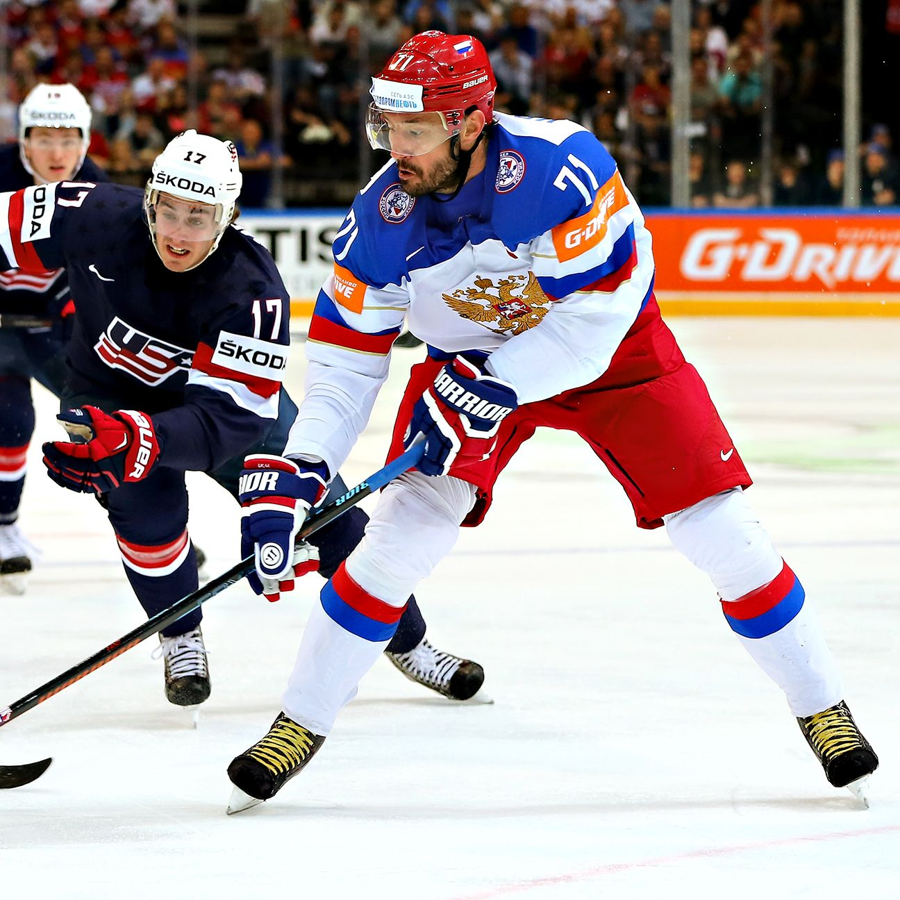 На днях, сборная россии по хоккею в пятый раз выиграла чемпионат мира