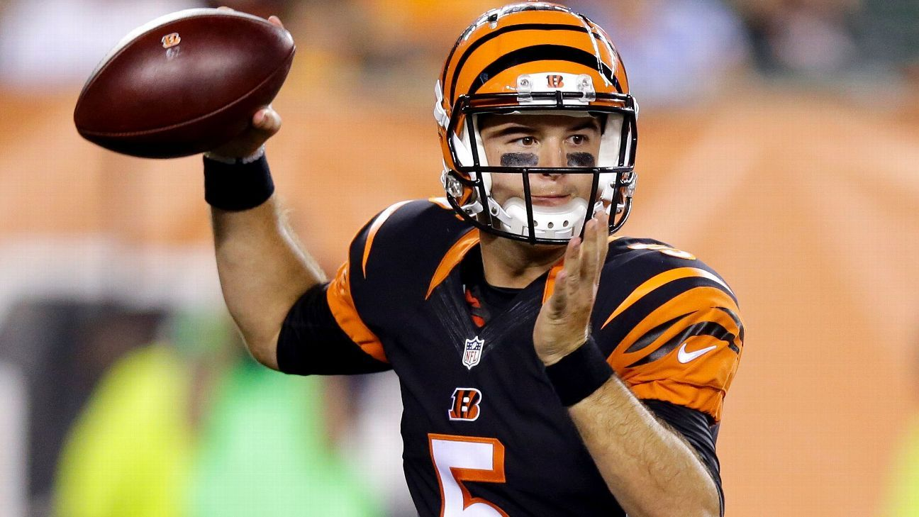 AJ McCarron won his grievance against the Bengals and will be an unrestricted free agent on March 14. The quarterback told the Cincinnati Enquirer that he is looking forward to signing with a team where he can compete to be the starter.