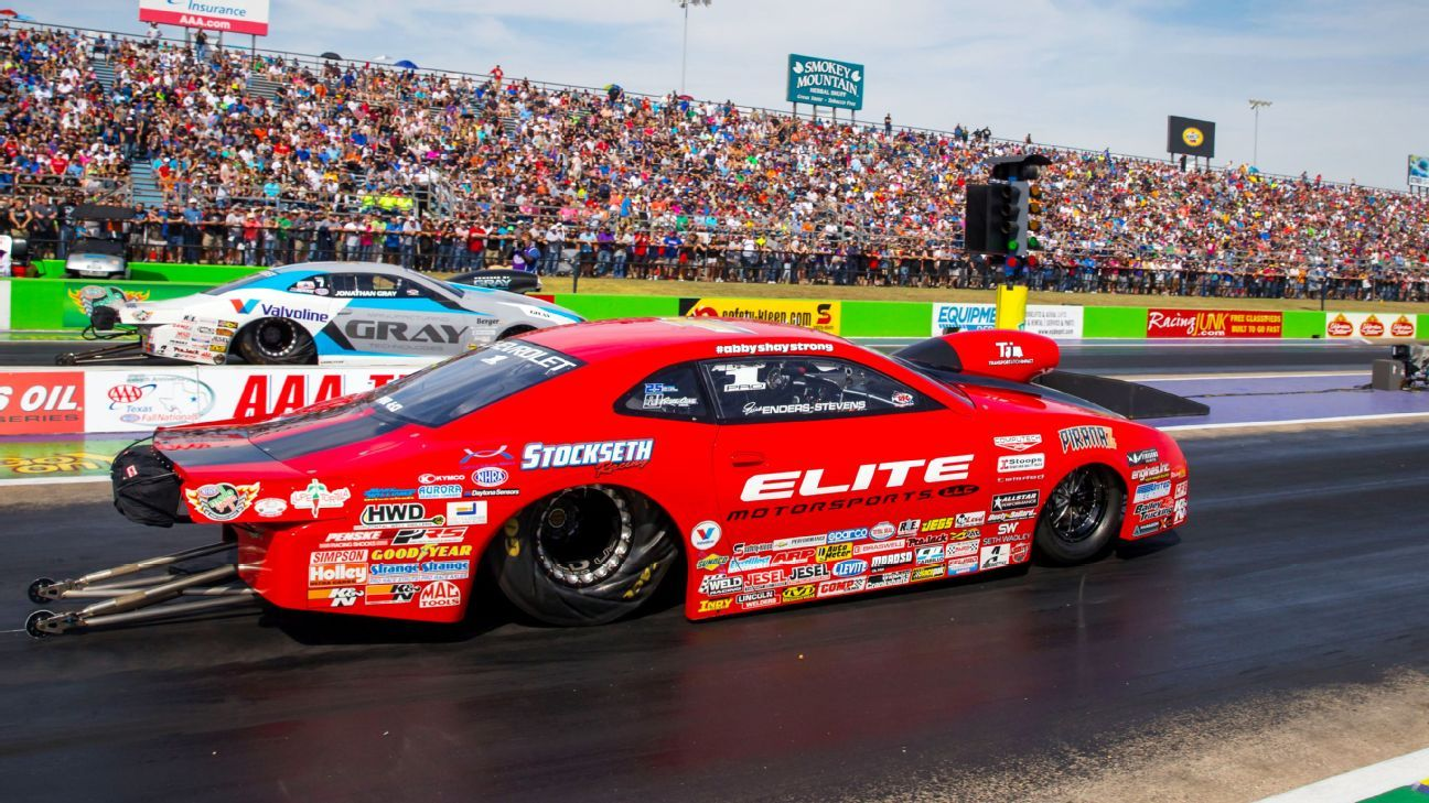 Erica Enders breaks NHRA season wins record for female drivers with eighth Pro Stock win of year