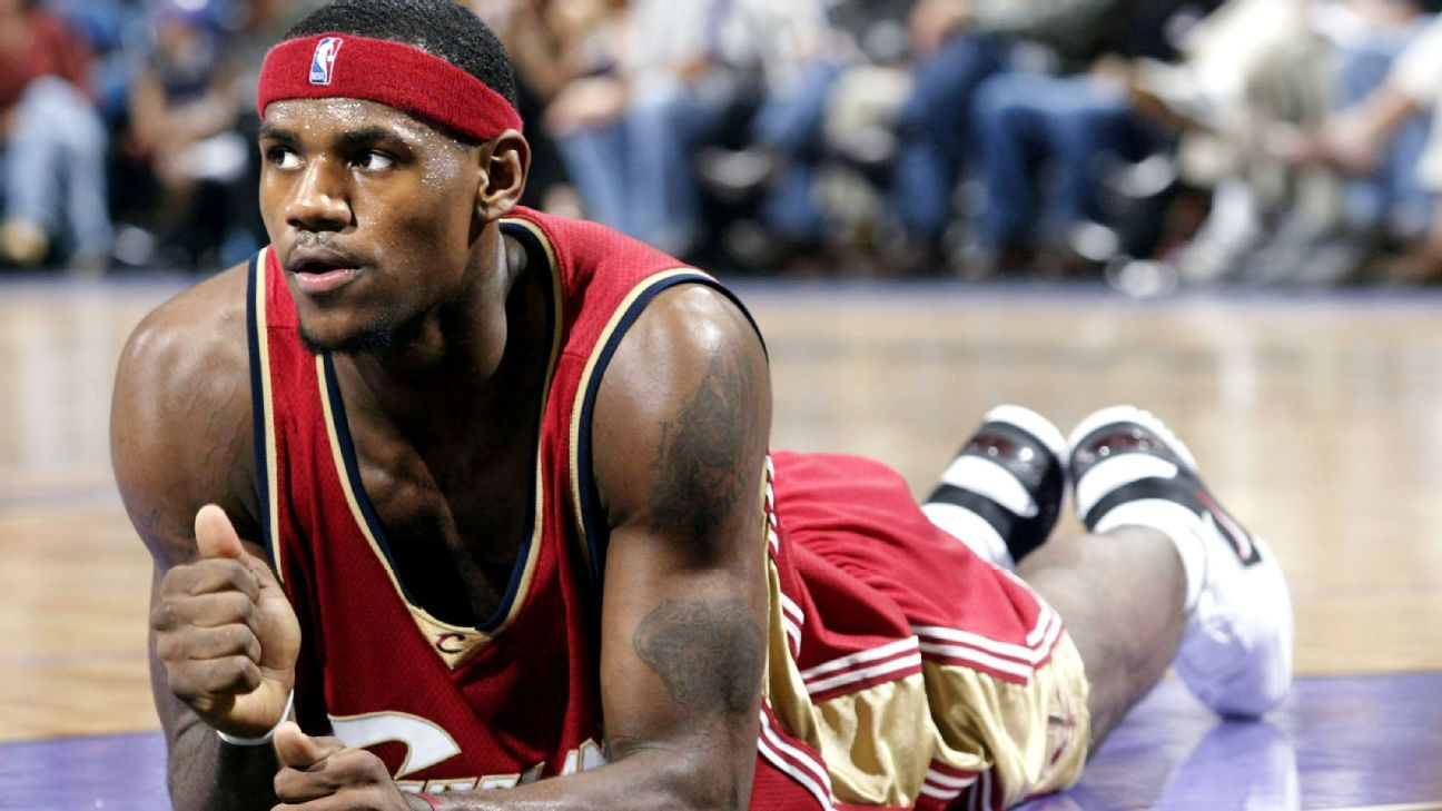 On this date in 2003, LeBron James made his NBA debut with the Cleveland Cavaliers