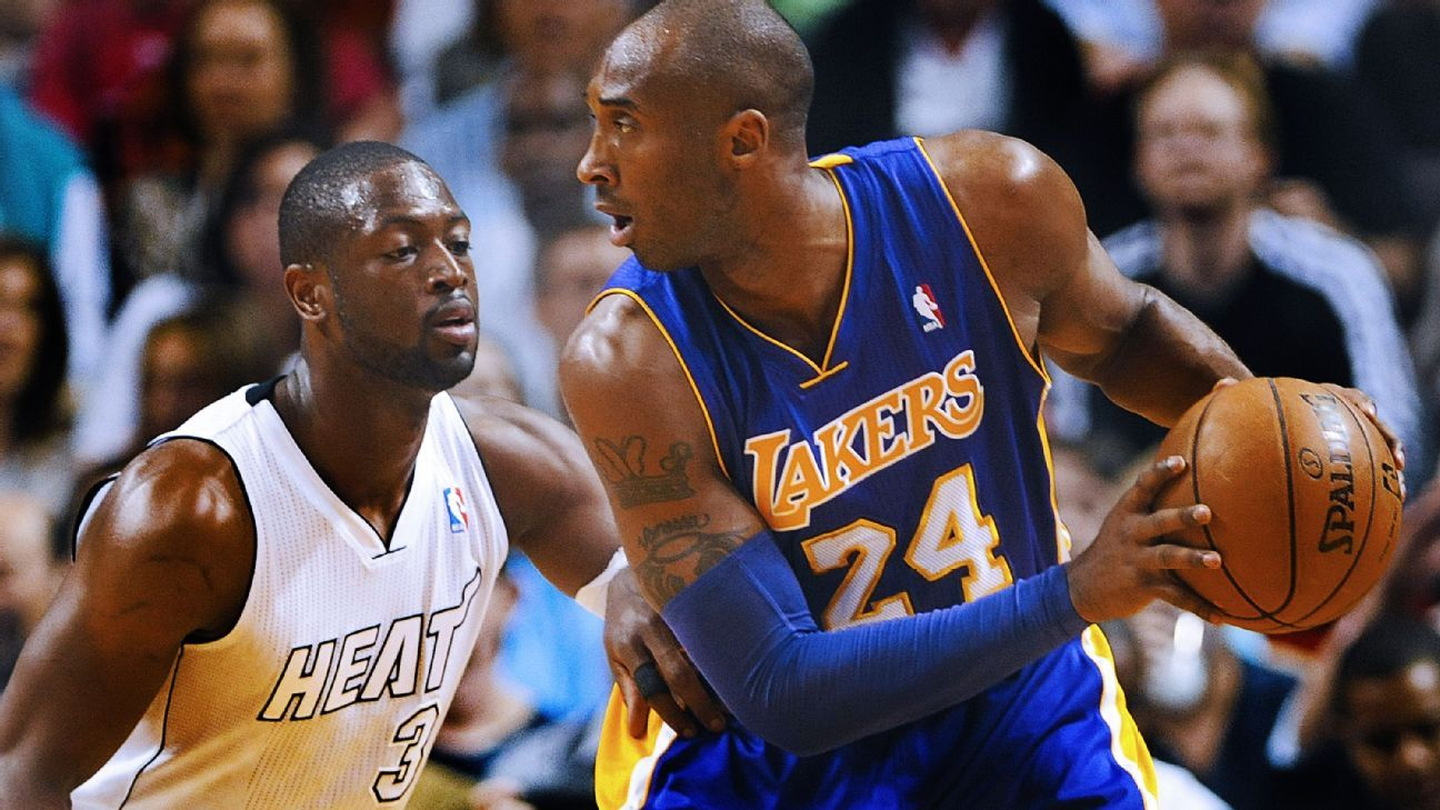 Miami Heat's Dwyane Wade relishes final clashes with Kobe ...