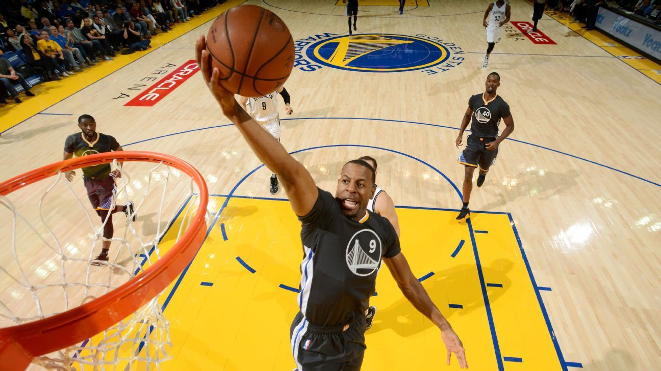Andre Iguodala to rescue as Warriors escape Nets, stay unbeaten