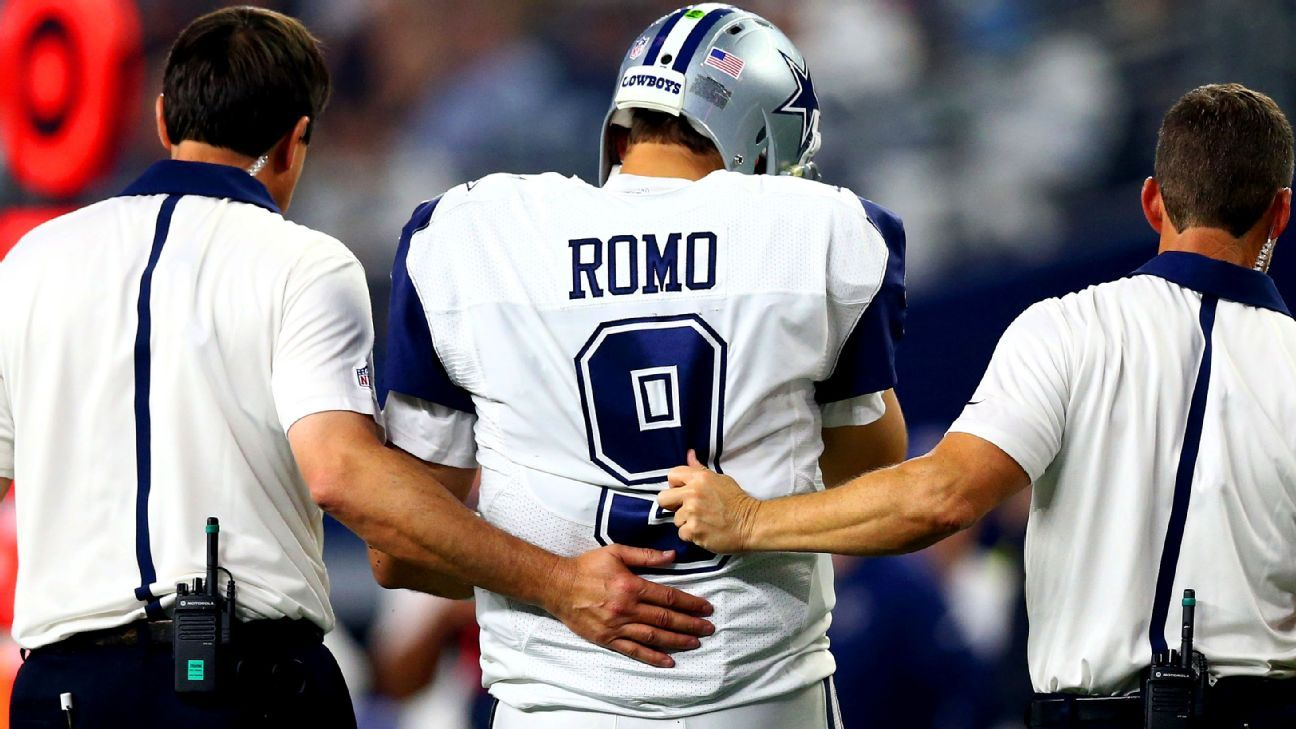 Coach Jason Garrett: Tony Romo has a lot of football left in him