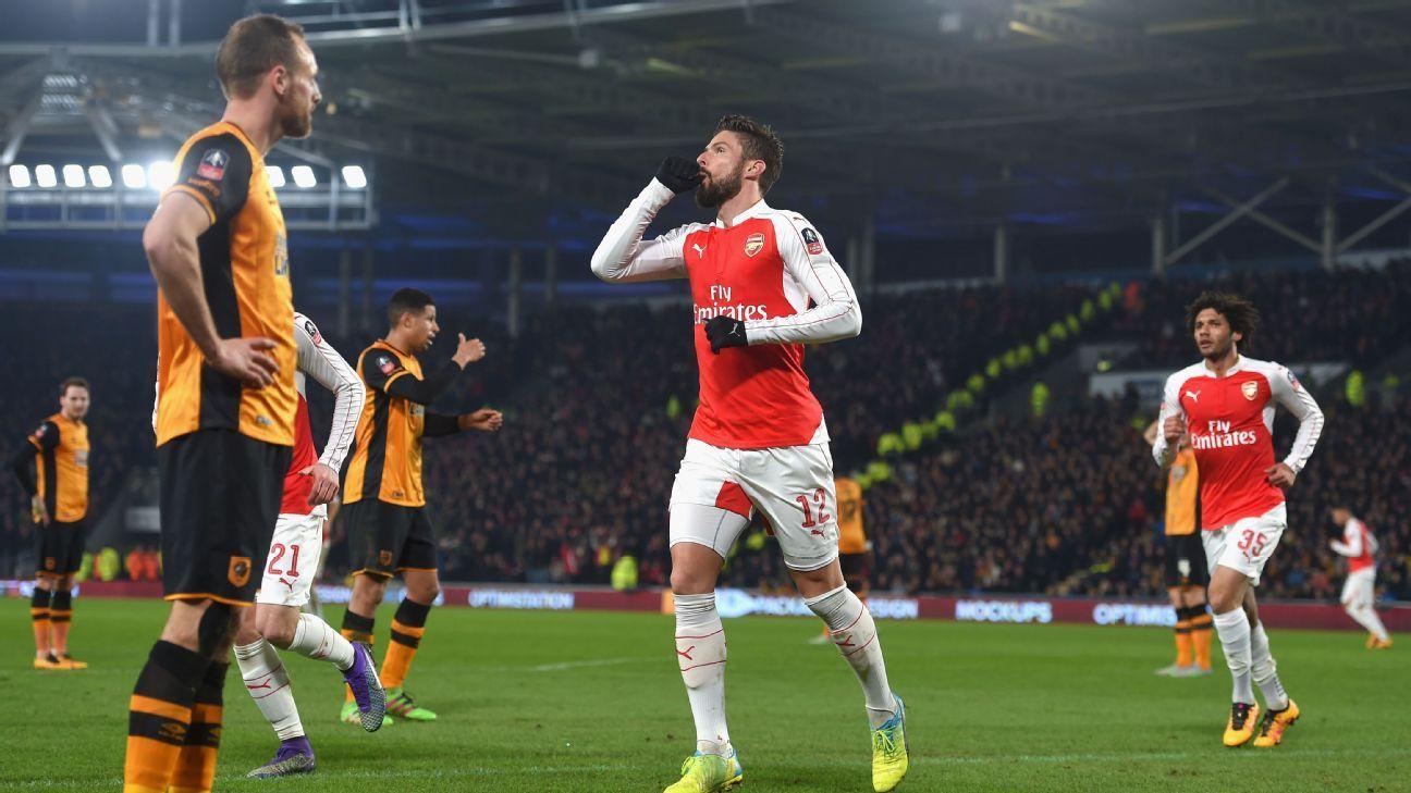 Hull City vs. Arsenal - Football Match Summary - March 8 ...