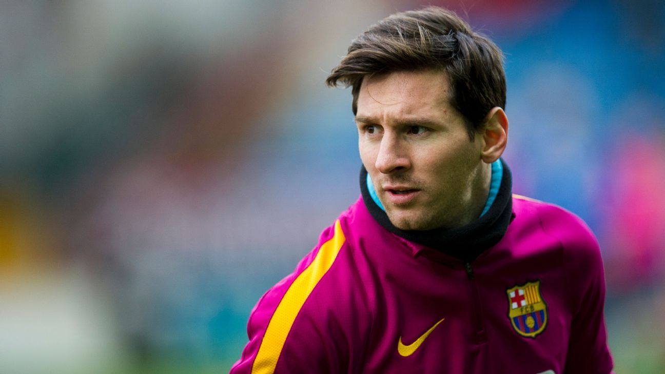 Lionel Messi played for Barcelona with kidney stones doc