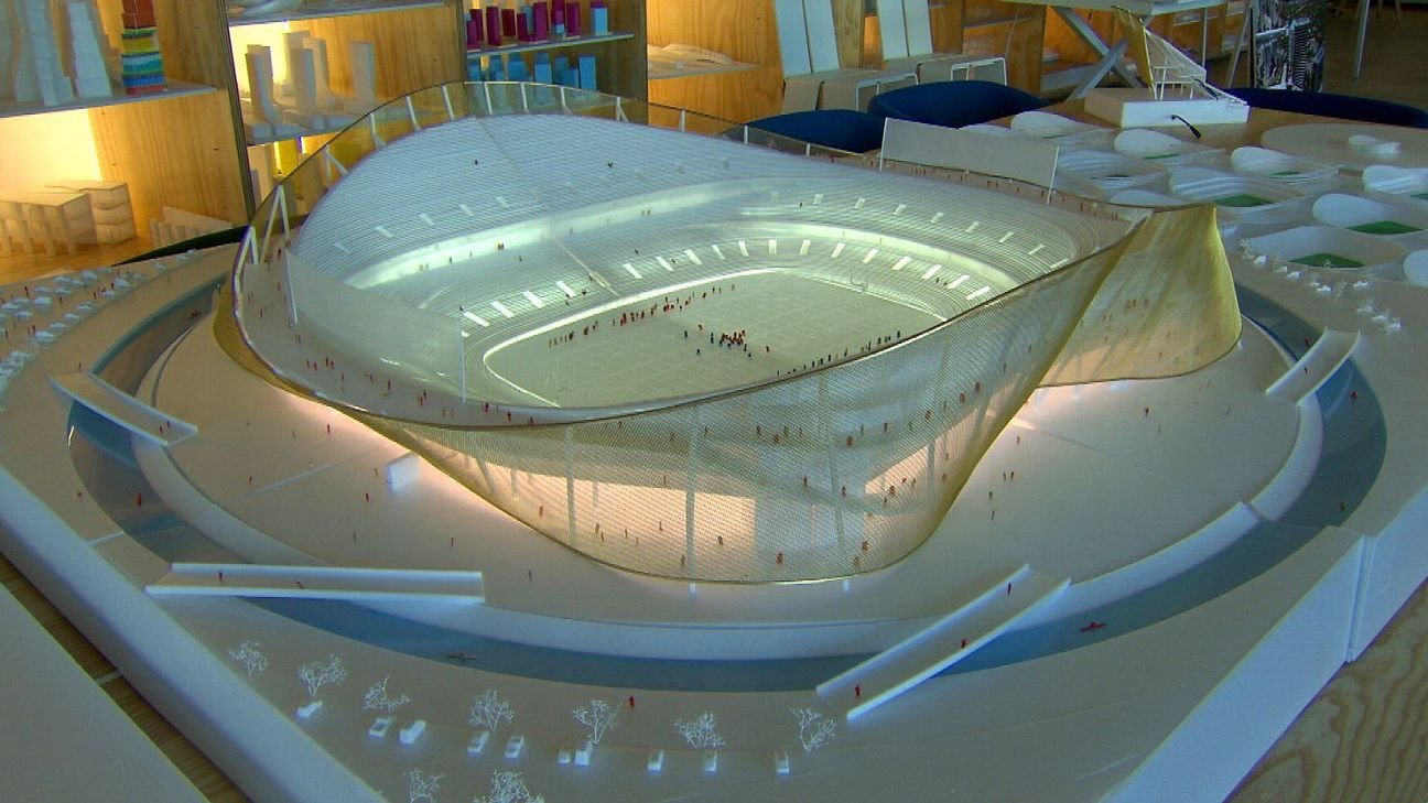 New Redskins Stadium Design