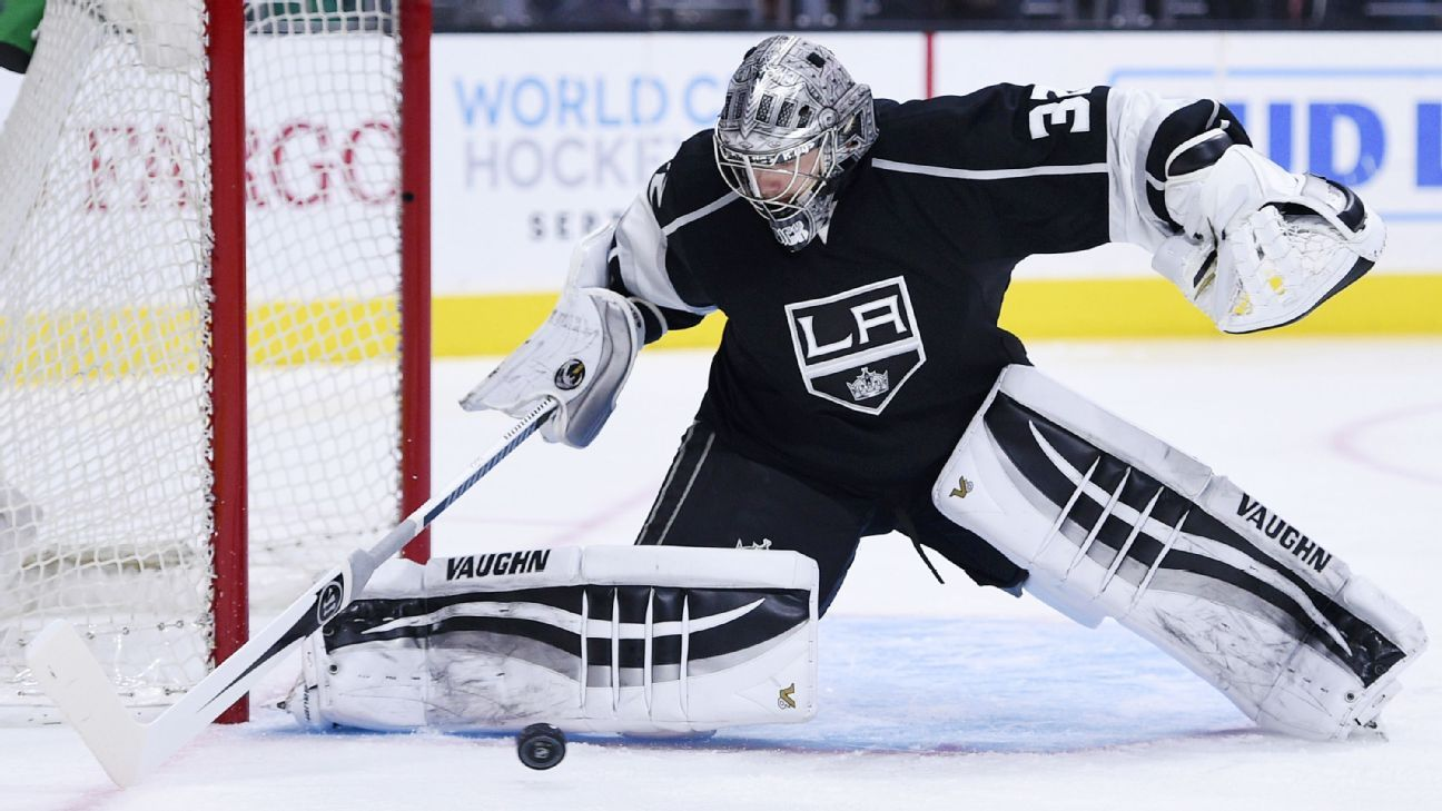 LA Kings put goalie Jonathan Quick on injured reserve