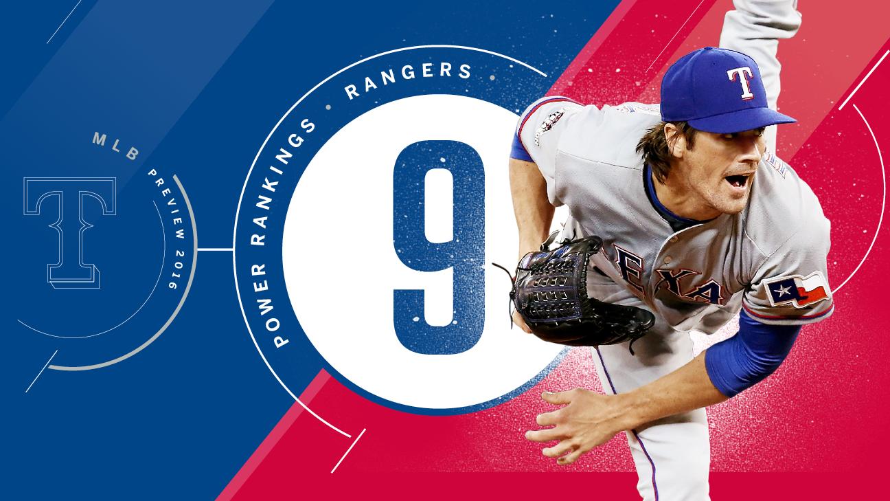 2016 season preview: No. 9 Texas Rangers