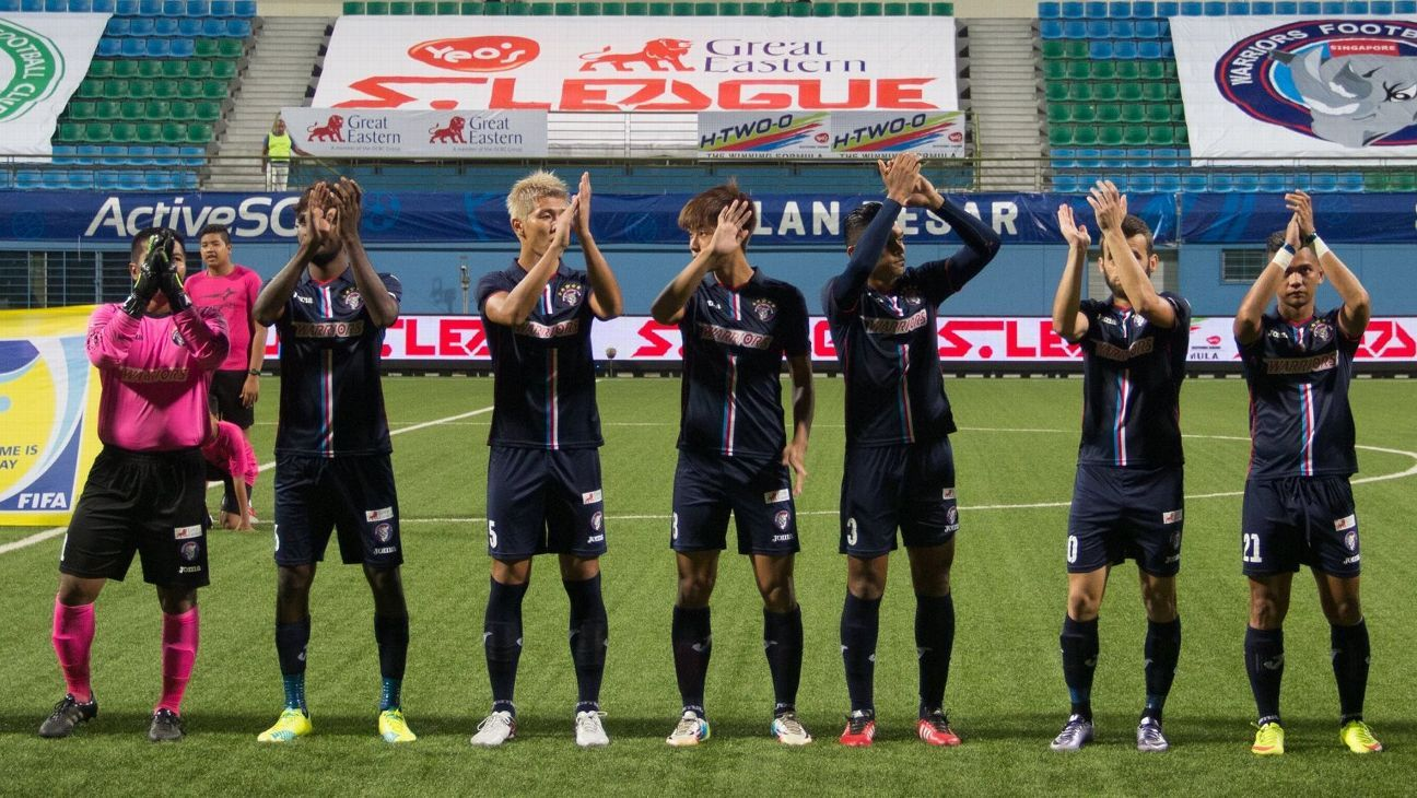 Warriors vs. Tampines Rovers - Football Match Report - May ...