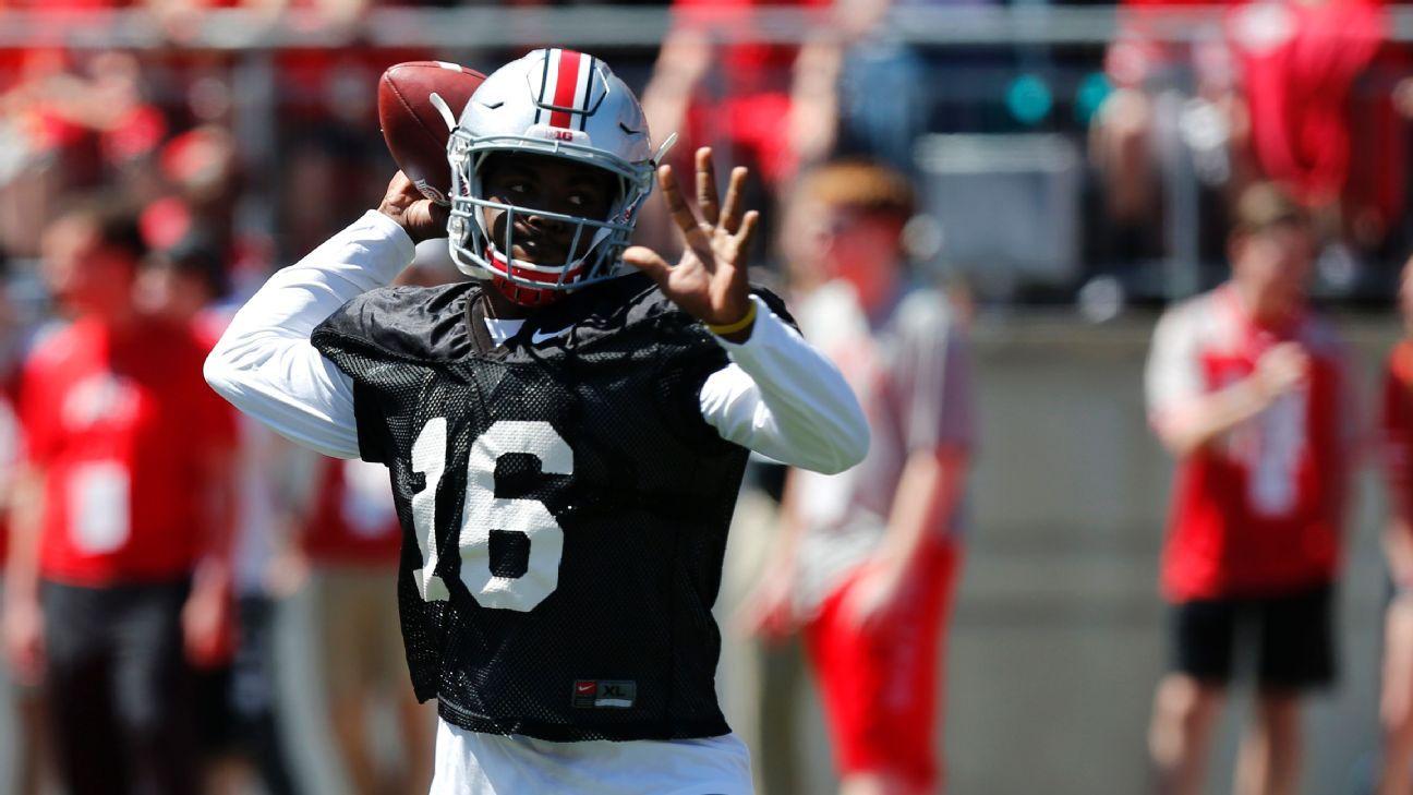 Ohio State Buckeyes J T Barrett Among Big Ten S Most