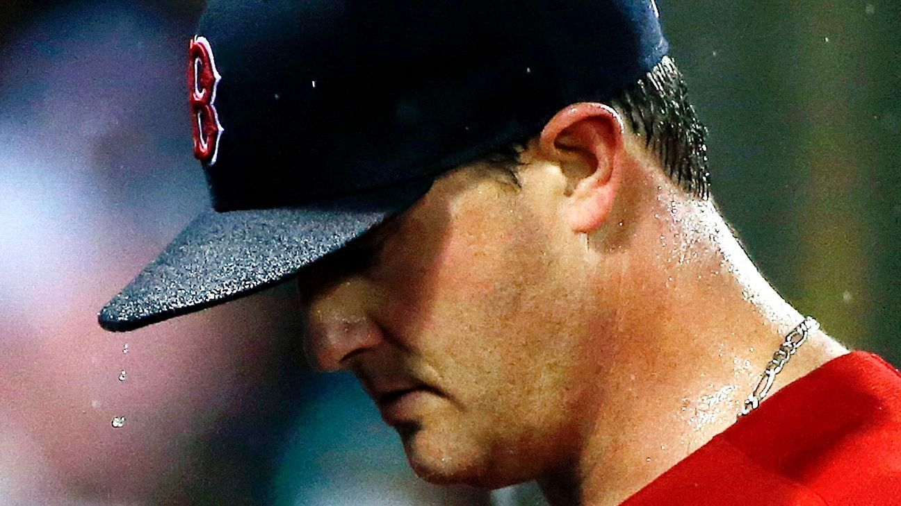 Steven Wright, Boston Red Sox knuckle under at damp Fenway Park - Boston Red Sox Blog-  ESPN