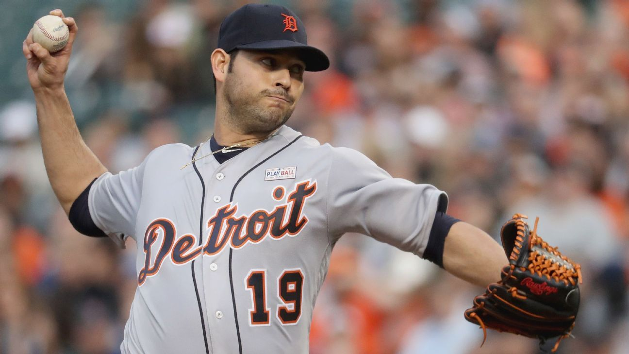 Anibal Sanchez gets rocked in the sixth as Detroit Tigers lose again - Detroit Tigers-  ESPN