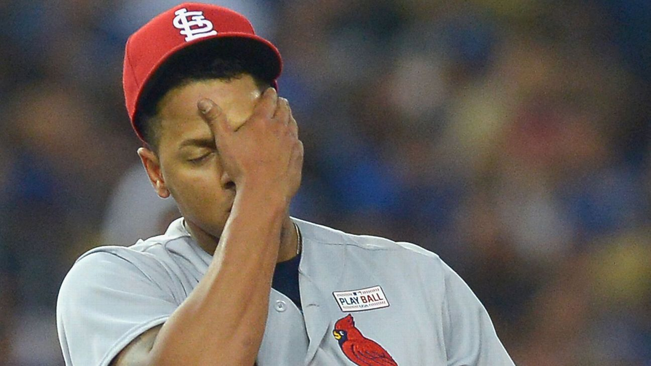 Mediocre pitching holding St. Louis Cardinals back - St Louis Cardinals-  ESPN