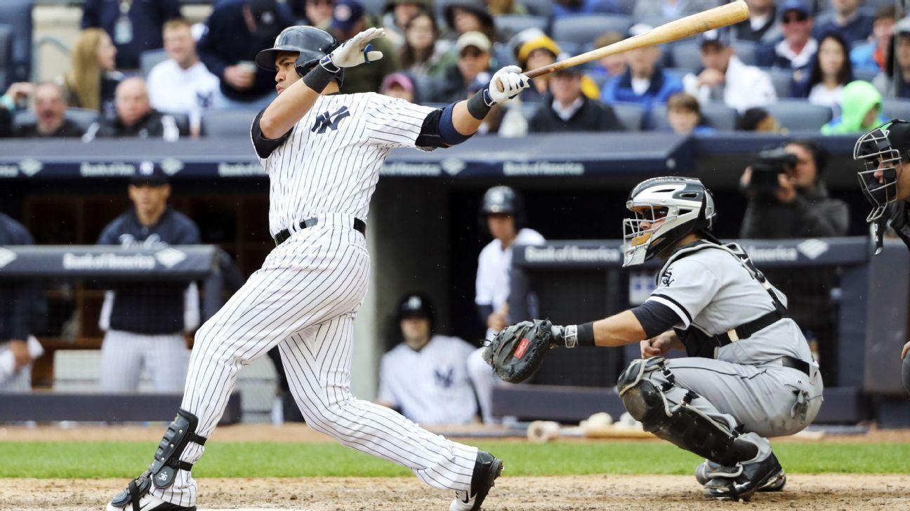 New York Yankees' Carlos Beltran hits career home run No. 400