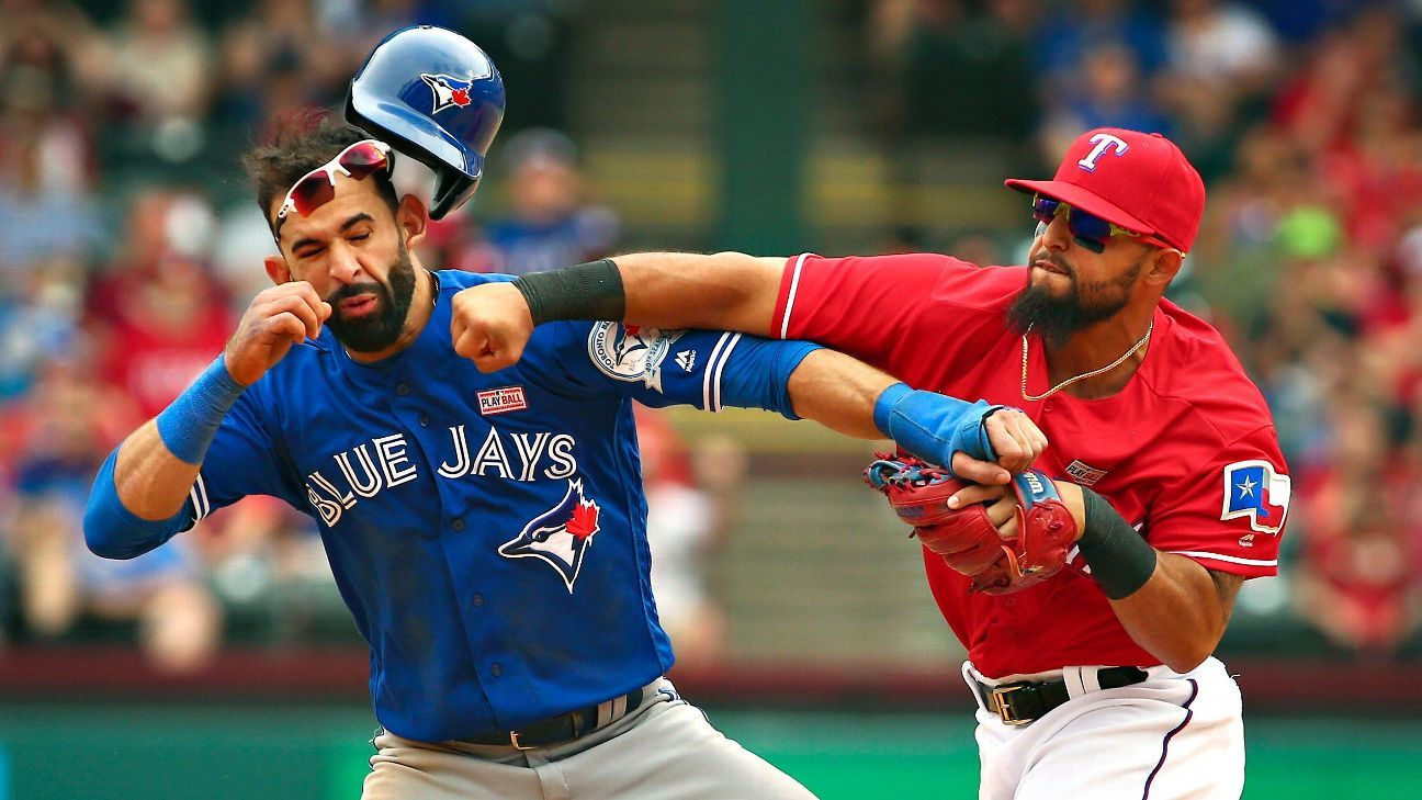 Karabell --Fantasy replacements and fallout from Jays-Rangers brawl - Eric Karabell Blog-  ESPN