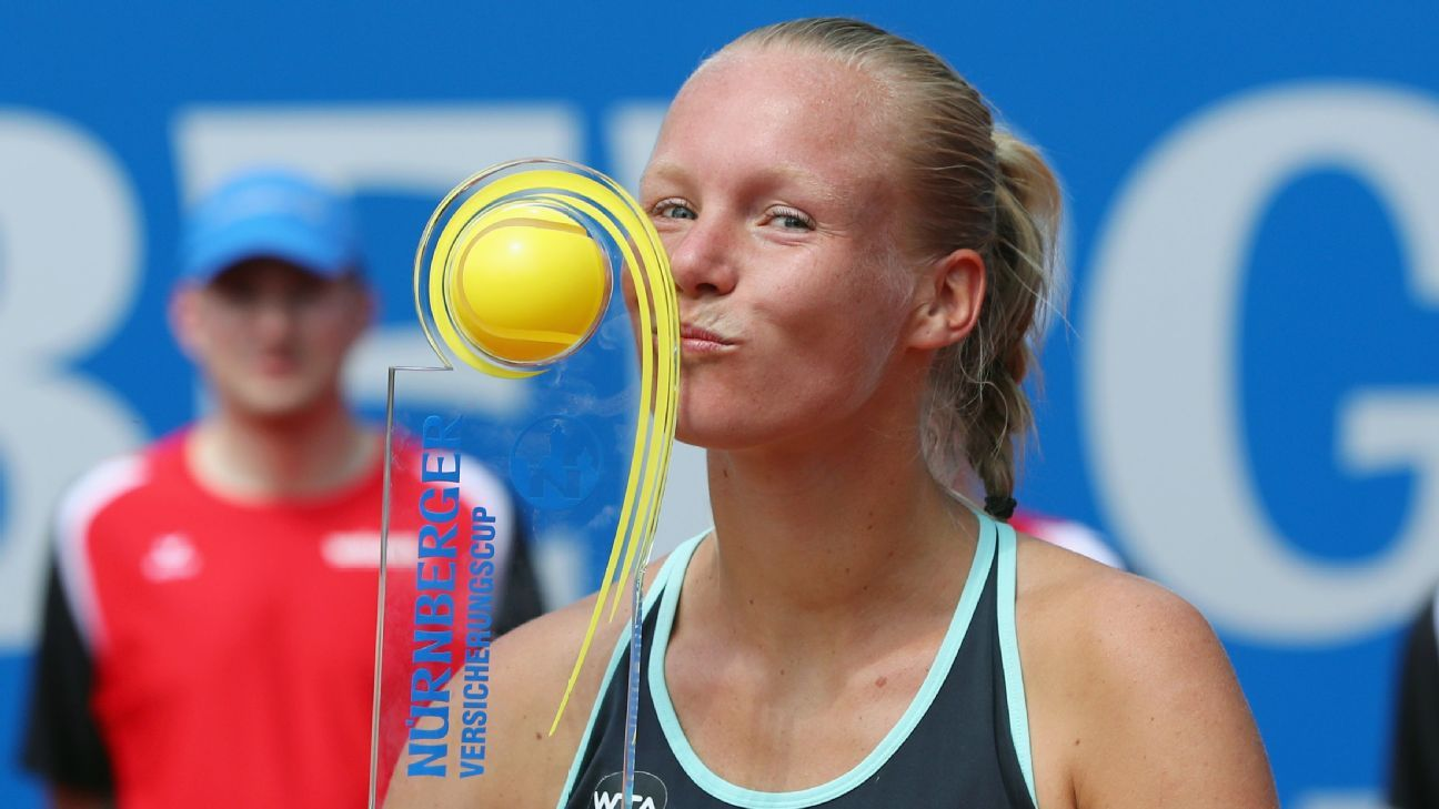 Dutch Qualifier Kiki Bertens Wins Nuremberg Tournament