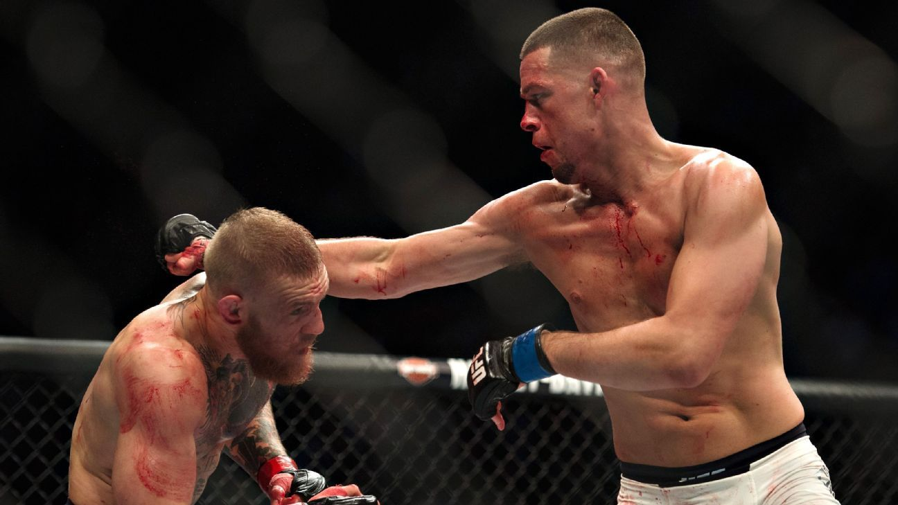 Nate Diaz: Floyd Mayweather-Conor McGregor proposal a 'publicity stunt'