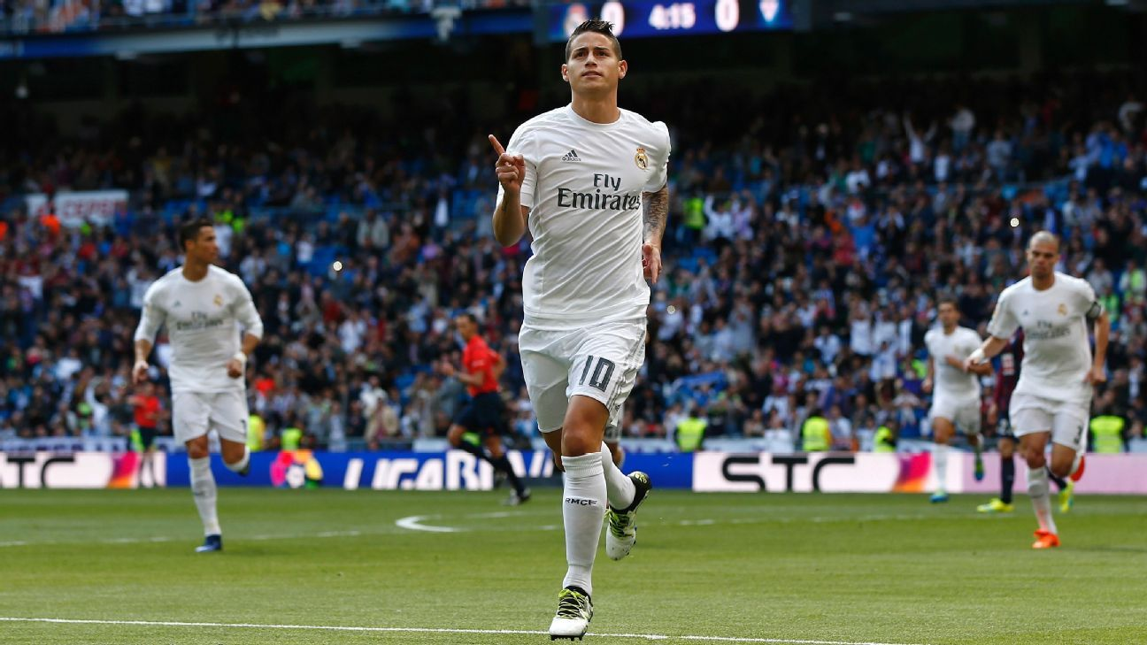 Real Madrid s new transfer policy could allow James Rodriguez to shine