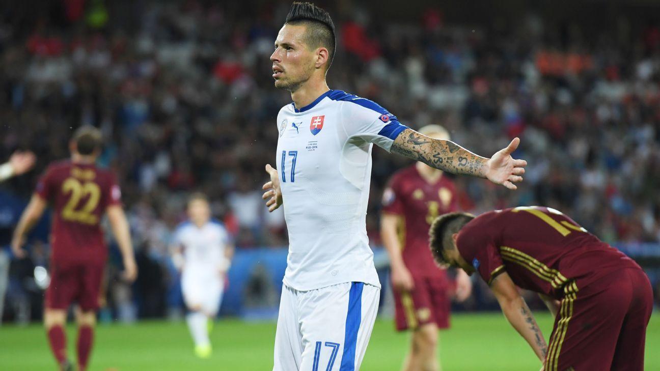 Napoli s Marek Hamsik deserves bigger club Slovakia boss Jan Kozak