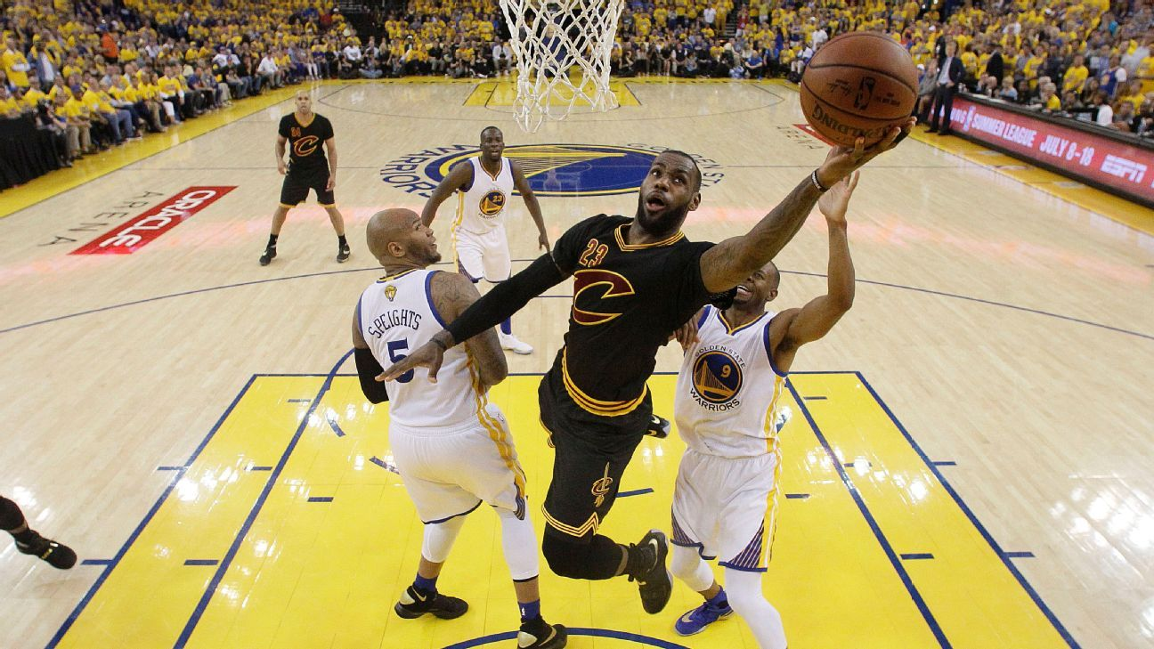 Cleveland Cavaliers to wear famed black, sleeved ...