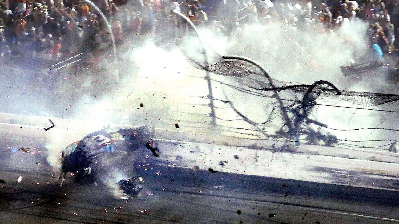 Men sue NASCAR, Daytona for 2015 incident