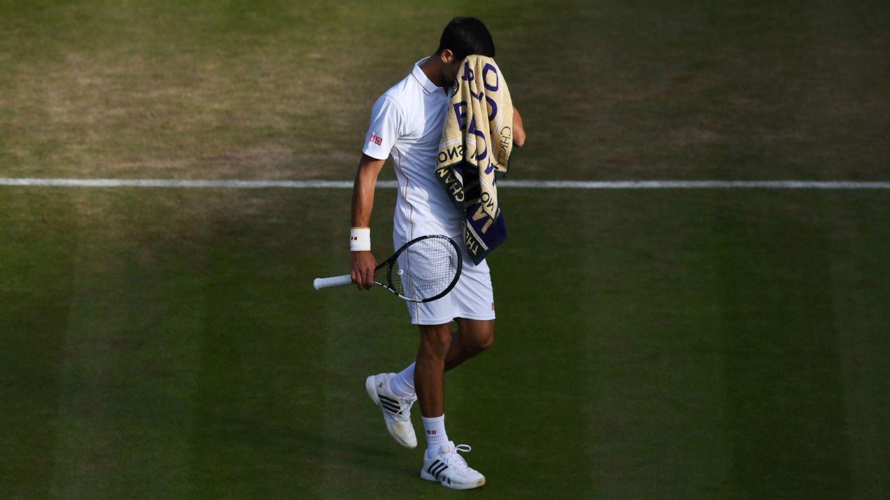 Novak Djokovic hoping a new day will bring brighter results