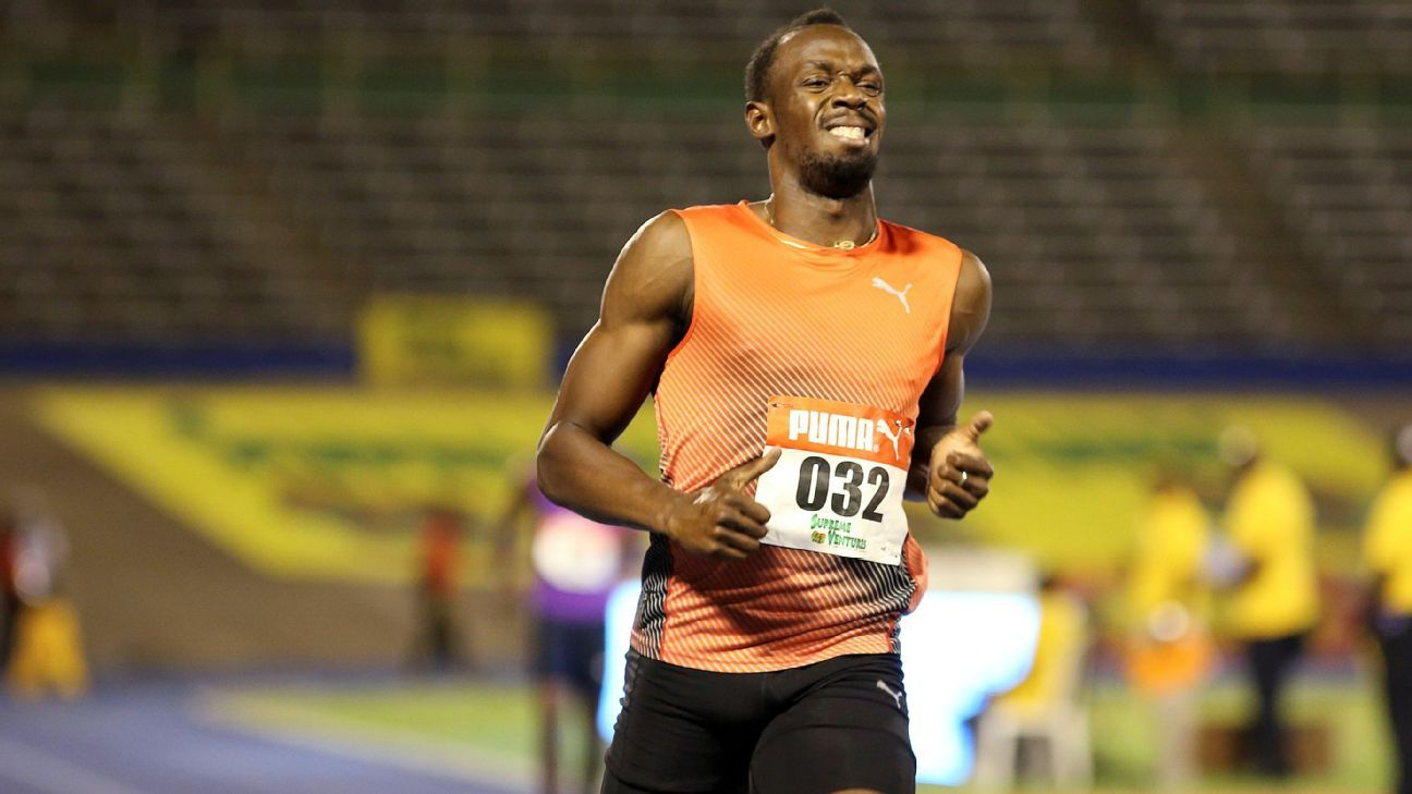 Bolt (hamstring) out of Jamaican Olympic trials