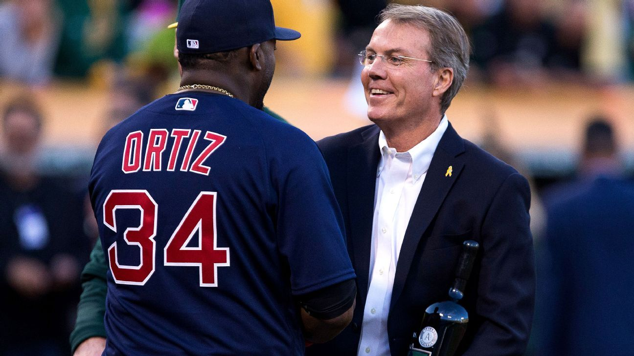 David Ortiz's farewell tour: In Oakland, Big Papi is gifted wine - Boston Red Sox Blog- ESPN
