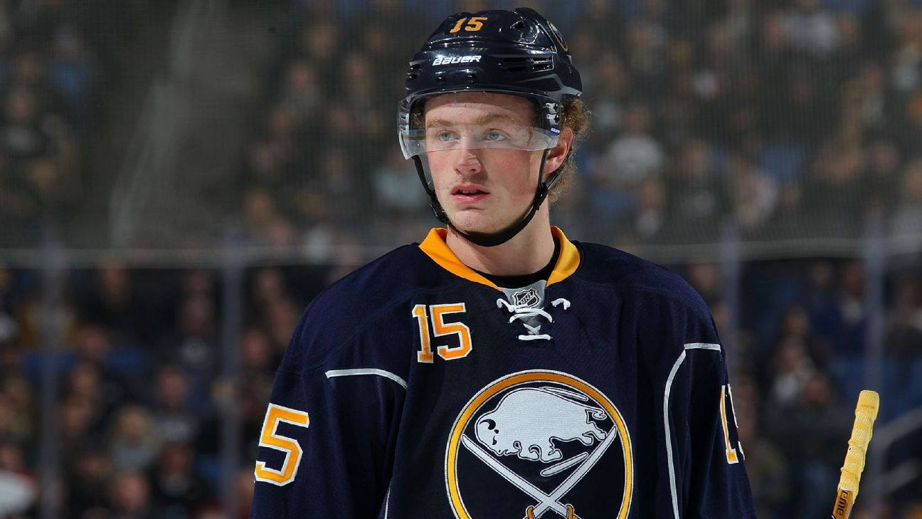 Report: Jack Eichel's extension with Sabres could run eight years