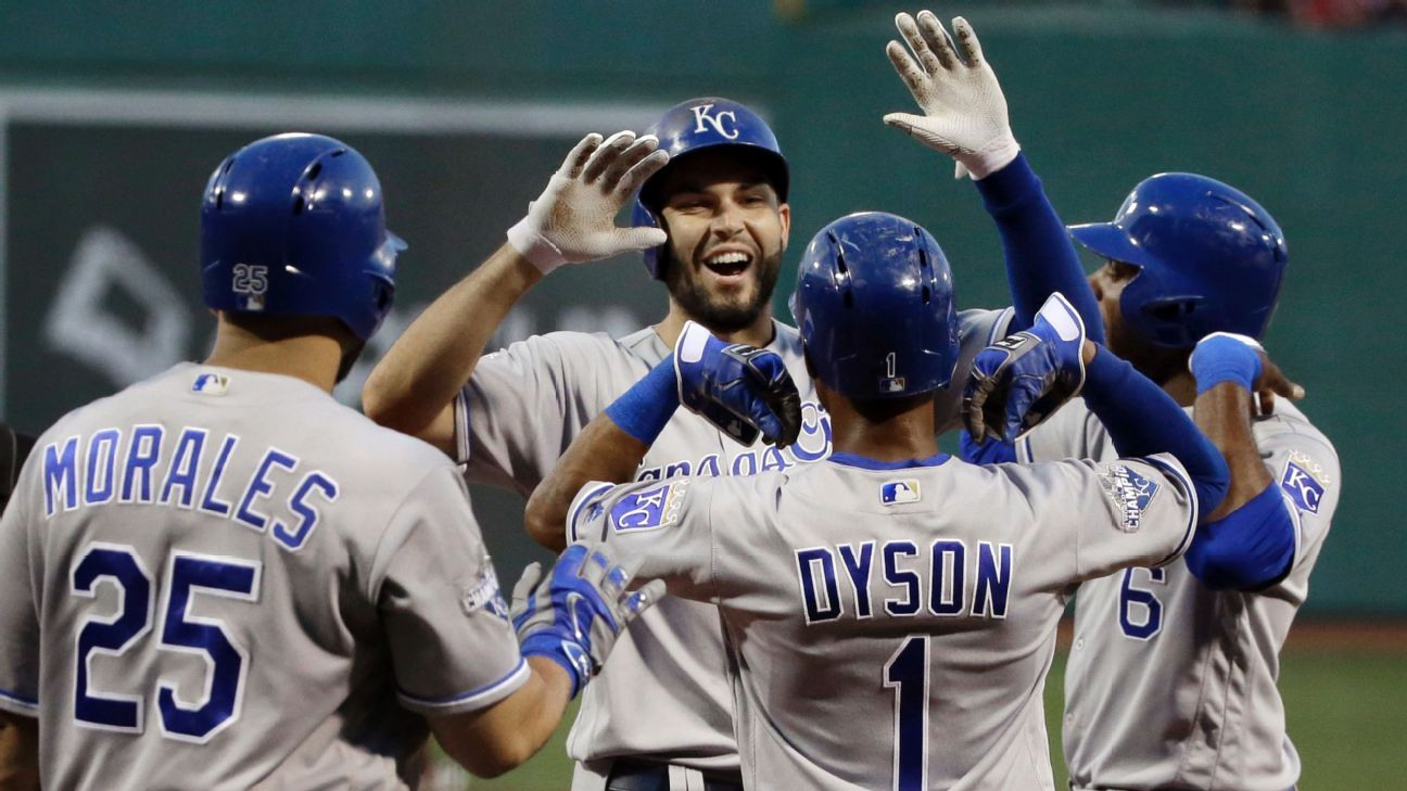 MLB Roundup: Royals shaping future with present moves
